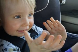 Road tripping with one year old