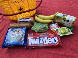 Food for traveling with kids