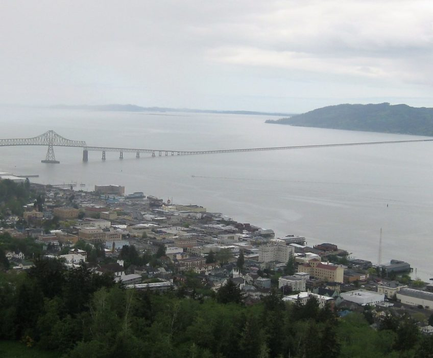 Astoria from column