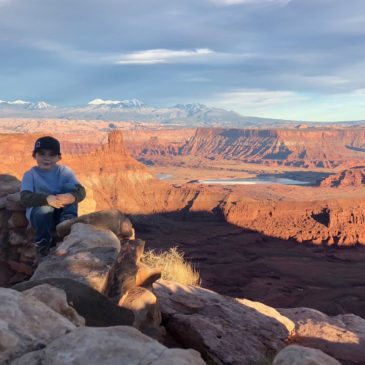 Around Moab with Kids: Mill Canyon Dinosaur Tracks and Dead Horse Point