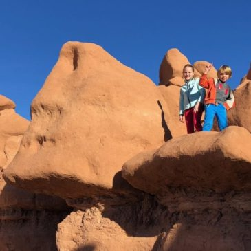 Magical Places to Play with Kids in Utah: Goblin Valley, Leprechaun Canyon and Hogwarts Canyon