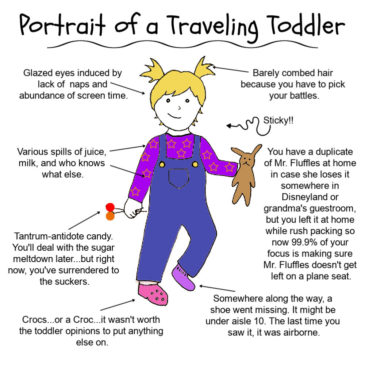 Portrait of a Traveling Toddler
