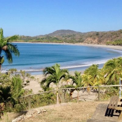 The perfect, quiet, undeveloped crescent of Playa Carrillo makes it a welcome respite from busier beaches; you'll find many locals here on weekends and holidays.