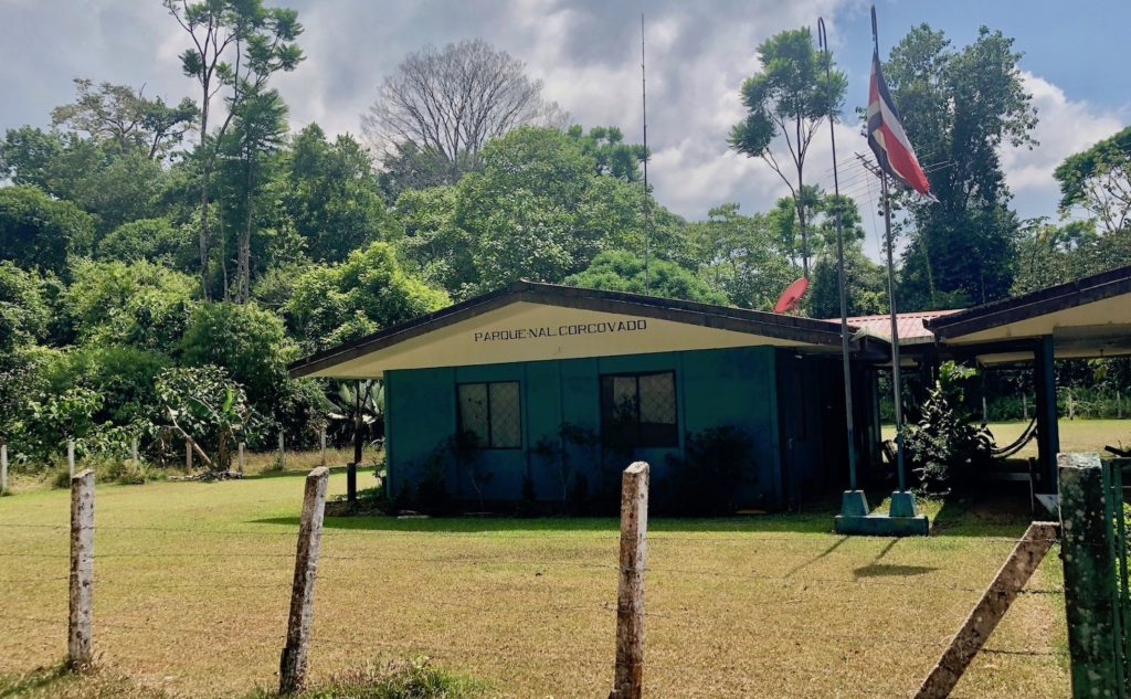 Corcovado National Park ranger station