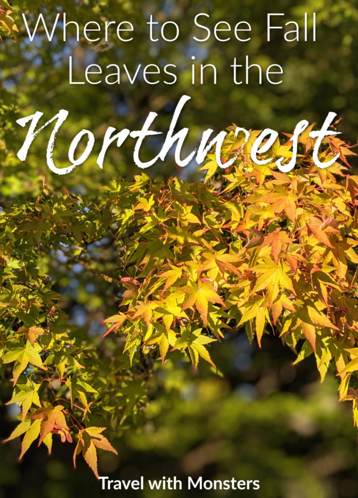 where to see fall leaves in the northwest