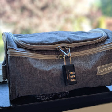Why I Got a Lockable Travel Toiletry Bag for Traveling with My Child